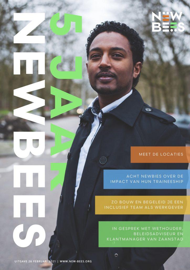 5 jaar NewBees Magazine cover