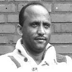 Portret Tesfom Ghirmay