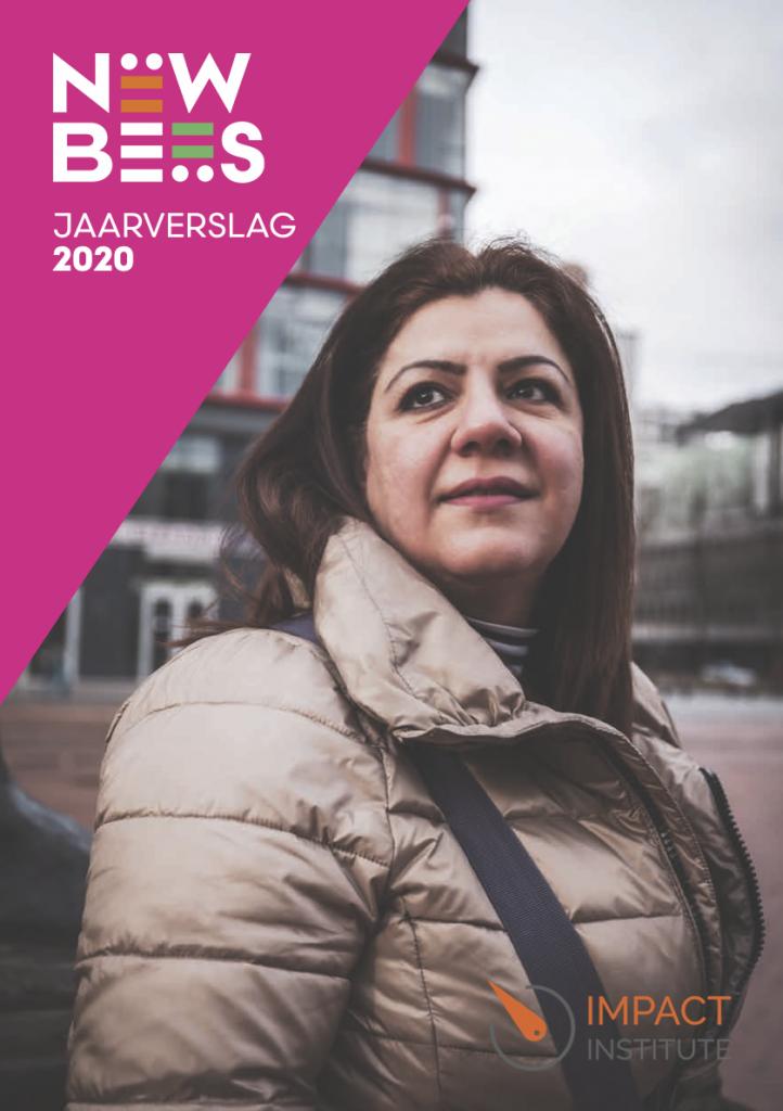 NewBees jaarverslag 2020 voorpagina